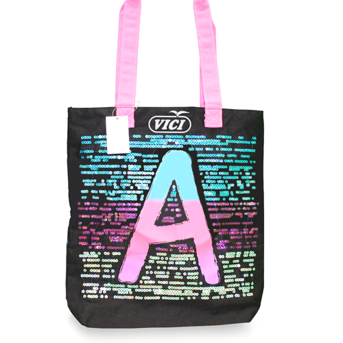 Canvas Tote Bag With Velcro Closure