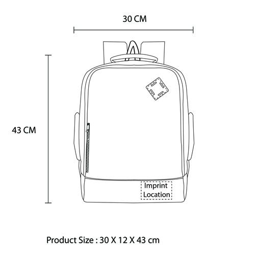 Side Carry Waterproof Backpack