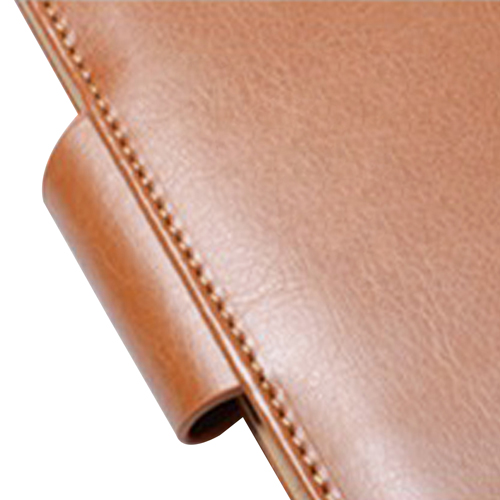 Leather Cover Jotter With 80 Sheet Paper Image 7