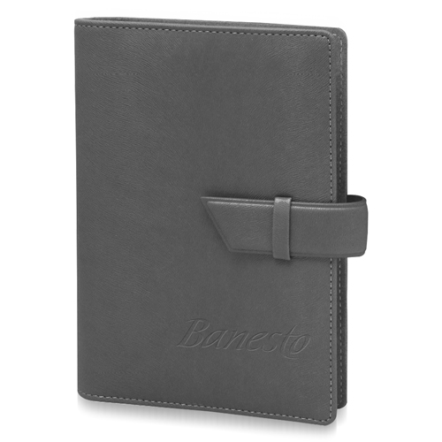 Loose-Leaf Spiral Leather Notebook  (130 x 190mm)