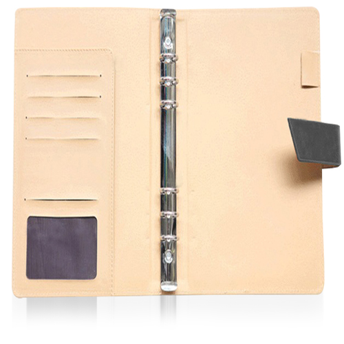 Loose-Leaf Diary With Button Closure (184 x 235mm)