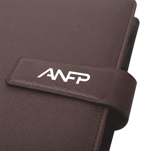 Loose-Leaf 6 Rings Leather Jotter
