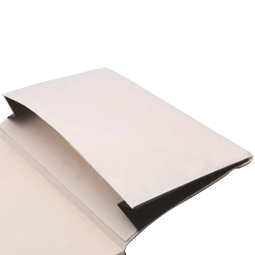 Leather Loose-Leaf Jotter With Elastic Closure Image 7