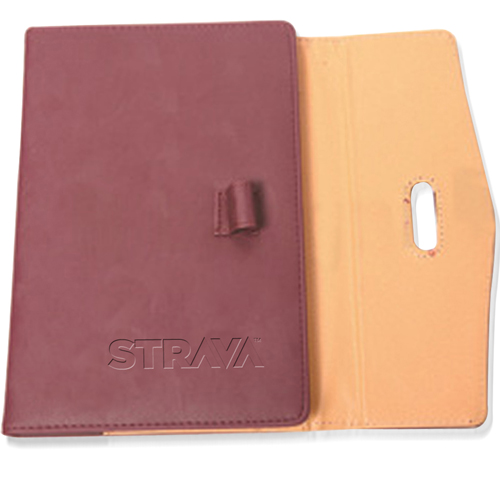 Triple Fold Leather Executive Jotter Image 5