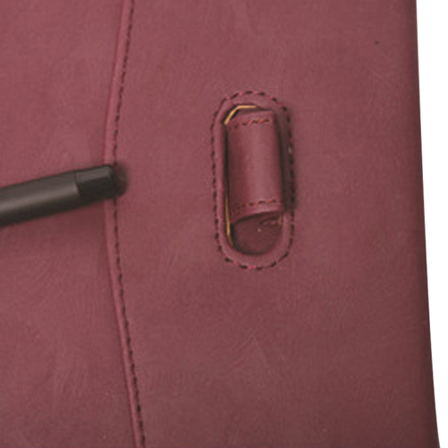 Triple Fold Leather Executive Jotter Image 6