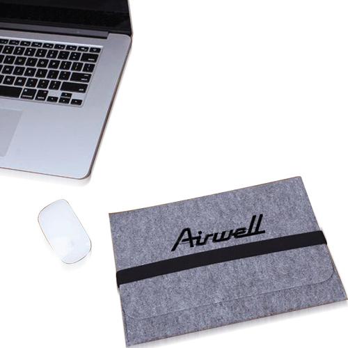 Natural Wool Felt Tablet Sleeve