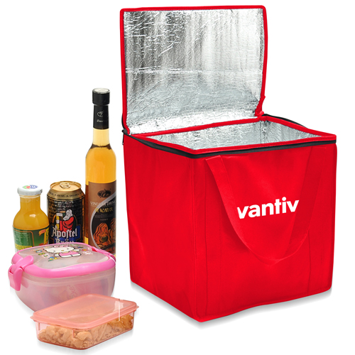 Non-Woven Foil-Lined Lunch Bag
