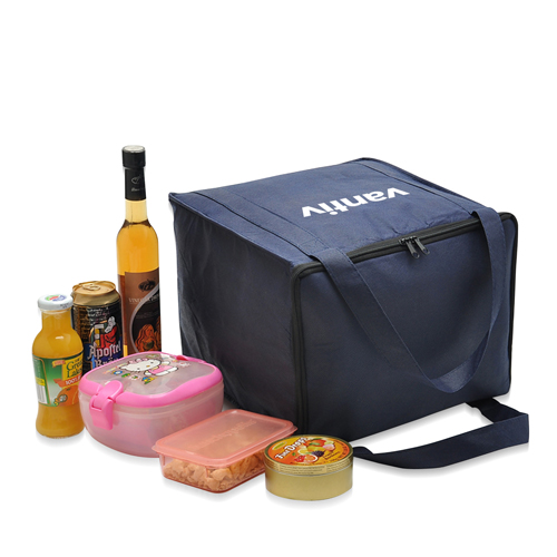 Non-Woven Foil-Lined Lunch Bag Image 1