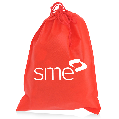 Nonwoven Drawstring Shoe Bag Image 1