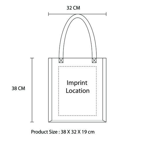 Large Jute Hemp Bag