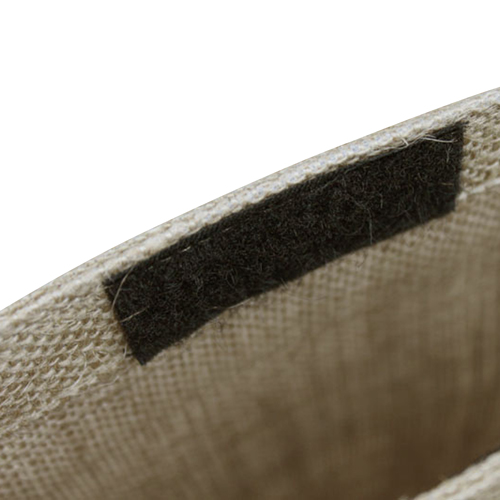 Eco-Friendly Jute Tote With Pocket Image 3