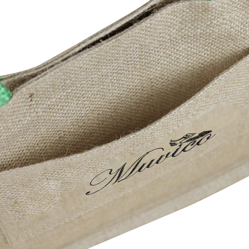 Eco-Friendly Jute Tote With Pocket Image 4