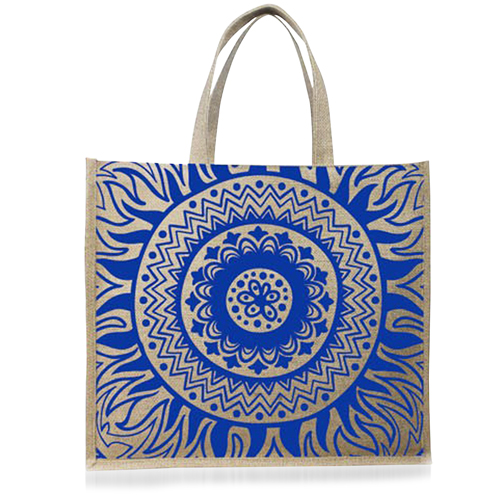 Natural Shopping Jute Bag Image 1