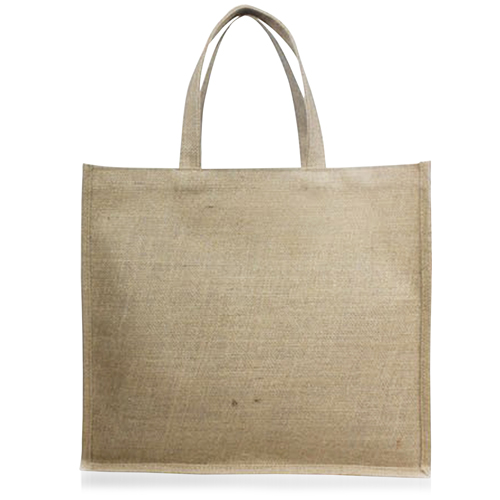 Natural Shopping Jute Bag Image 2