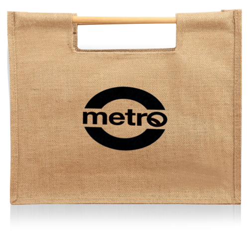 Jute Sticks Shopping Bag