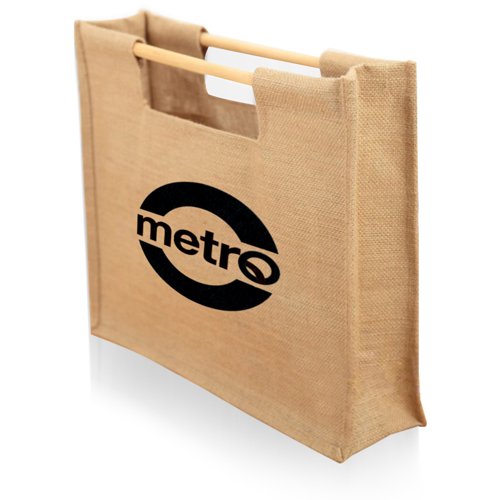 Jute Sticks Shopping Bag Image 1