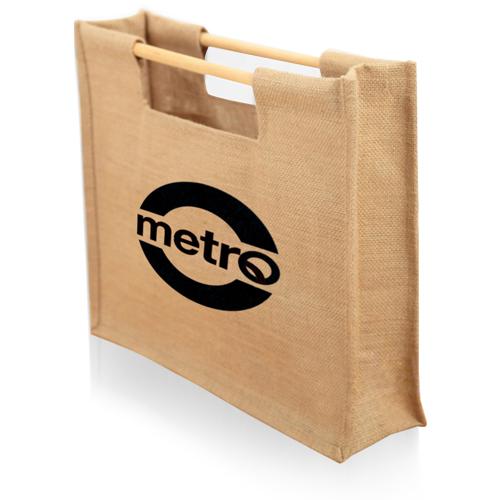 Jute Sticks Shopping Bag