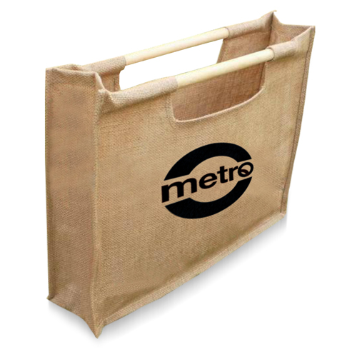 Jute Sticks Shopping Bag Image 2