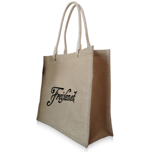Eco-Friendly Jute Shopping Bag Image 1