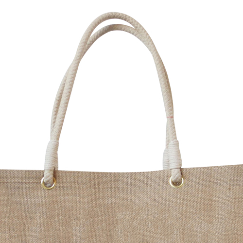 Eco-Friendly Jute Shopping Bag Image 2