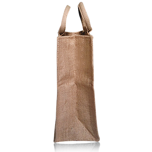 Natural One Bottle Jute Bag Image 2