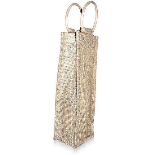 Natural One Bottle Jute Bag