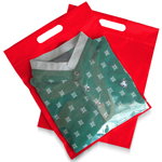 Non-Woven Clothing Ziplock Bag