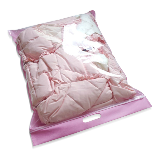 Clothing Transparent Zipper Bag Image 1