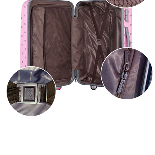 Dotted Luggage Travel Bag