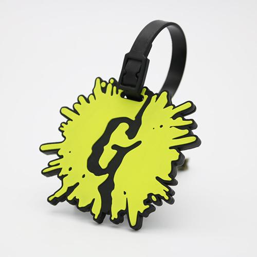 Custom Logo Shape Soft PVC Luggage Tag Image 7