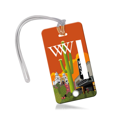Card Size Travel Luggage Tag