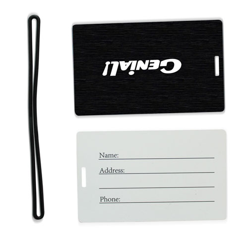 Luggage Tag With Hidden Name Card