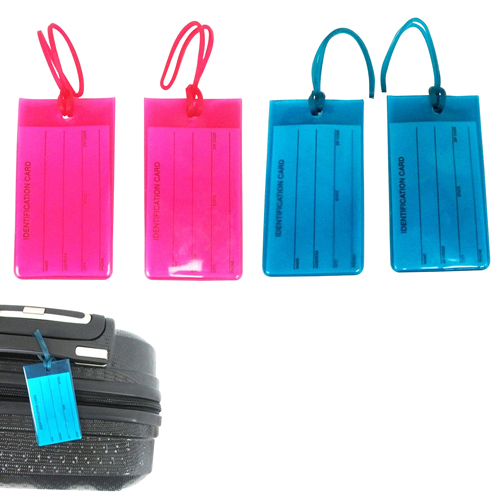 Transparent Jelly Luggage Tag
