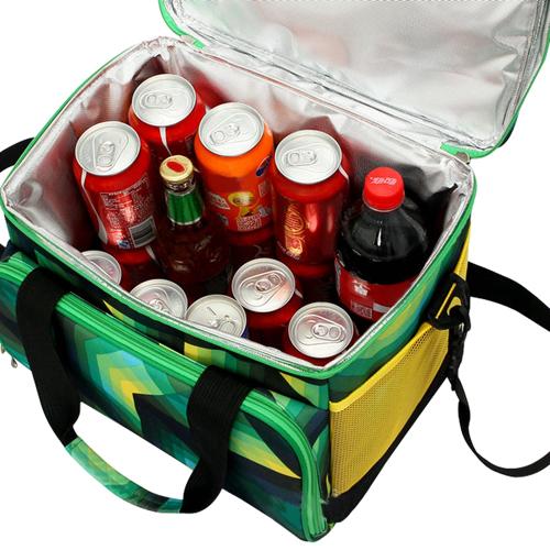 Insulated Cooler Mesh Pocket Bag