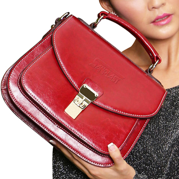 Womens Leather Cross Body Bag