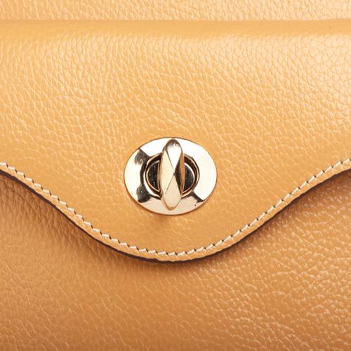 Sandwich Leather Handbag