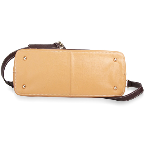 Sandwich Leather Handbag