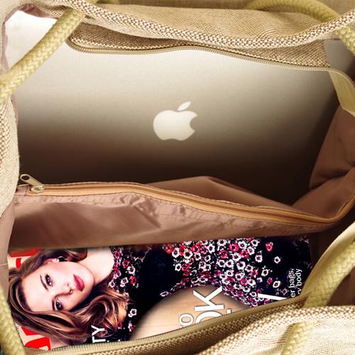 Fashion Linen Shoulder Bag