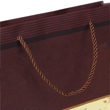 Gloss Soft Rope Handle Tote Bag