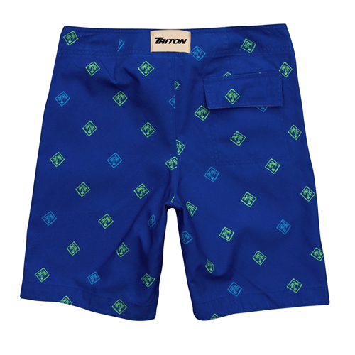 Coconut Pattern Shorts