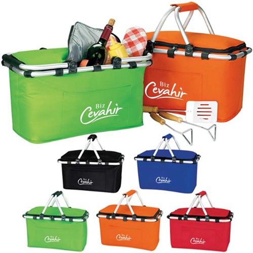 Foldable Insulated Picnic Basket