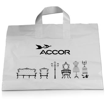 Soft Loop Handle Plastic Bag