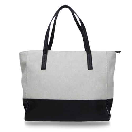 Canvas Meeting Trim Tote Image 11