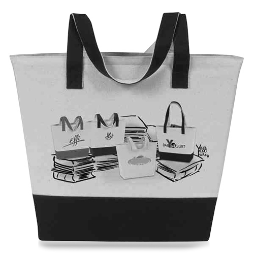 Canvas Meeting Trim Tote Image 17
