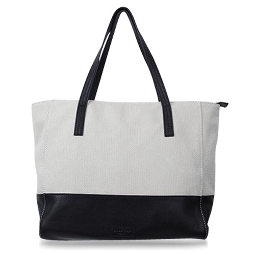 Canvas Meeting Trim Tote