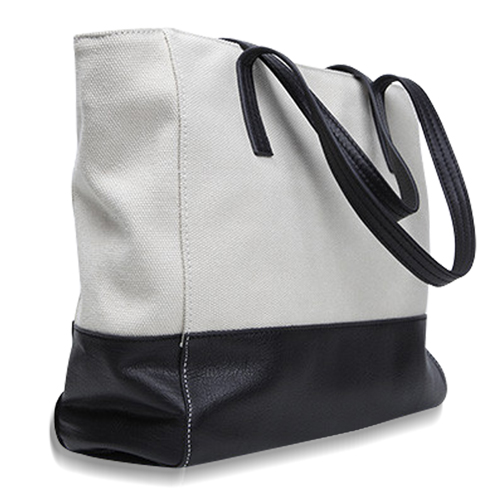 Canvas Meeting Trim Tote Image 8