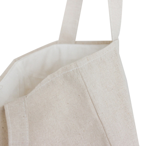 Natural 8 Oz Canvas Tote Bag