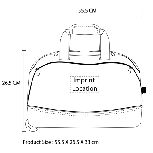 Expandable Duffle Trolley Bag