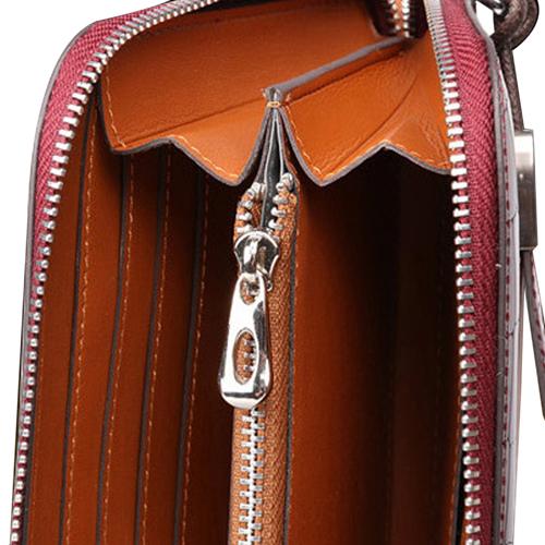 Cowhide Multifunction Clutch Wallet
