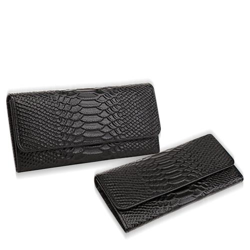 Crocodile Skin Pattern Women Clutch